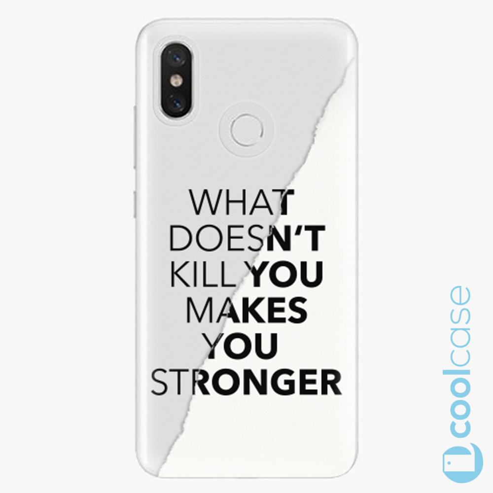 Plastový kryt iSaprio Fresh - Makes You Stronger na mobil Xiaomi Mi 8