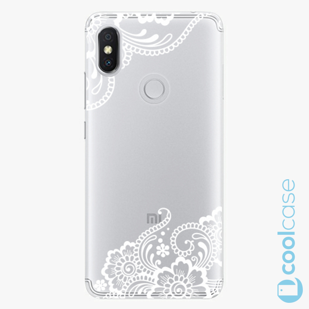Plastový kryt iSaprio Fresh - white Lace 02 na mobil Xiaomi Redmi S2