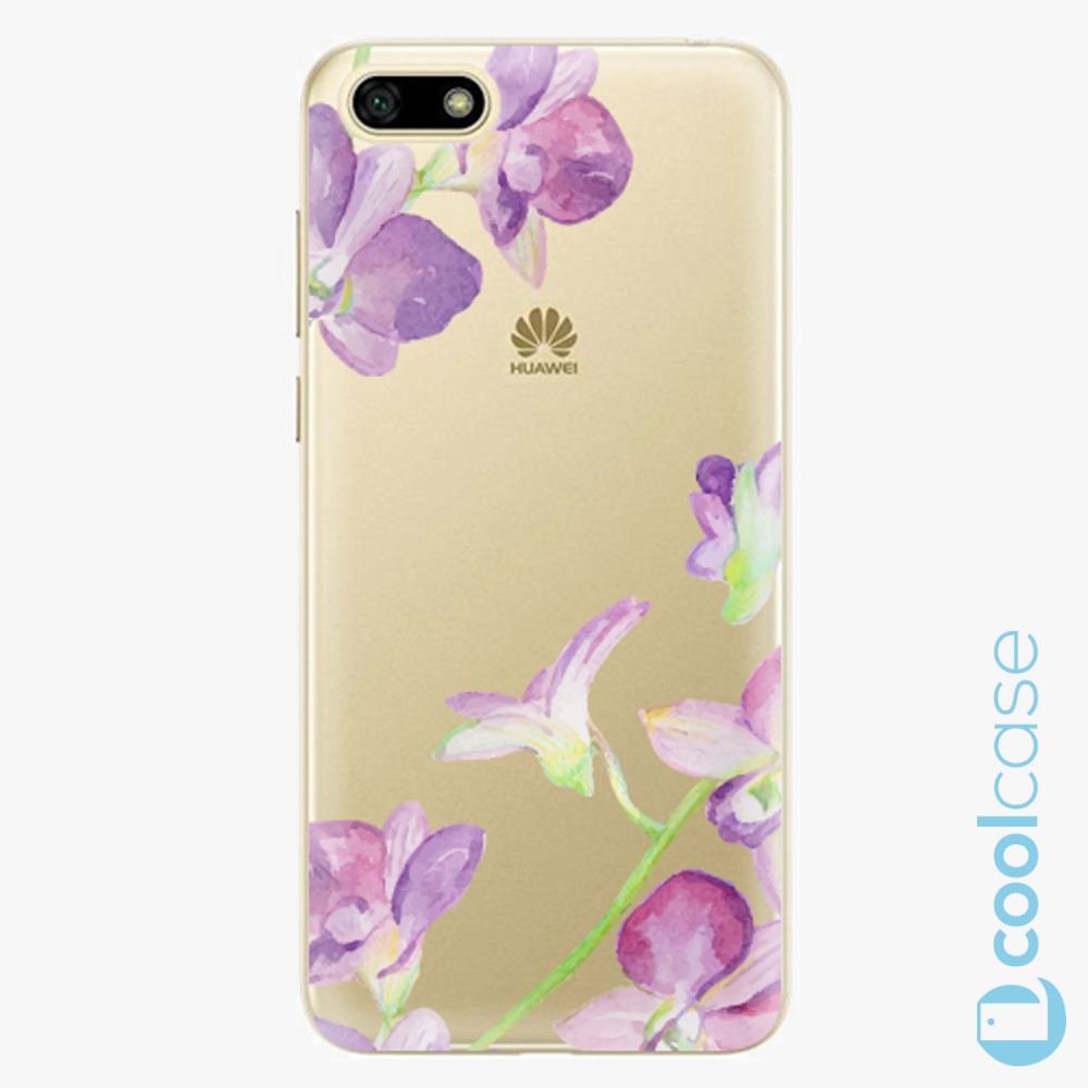 Plastový kryt iSaprio Fresh - purple Orchid na mobil Huawei Y5 2018 / Honor 7S