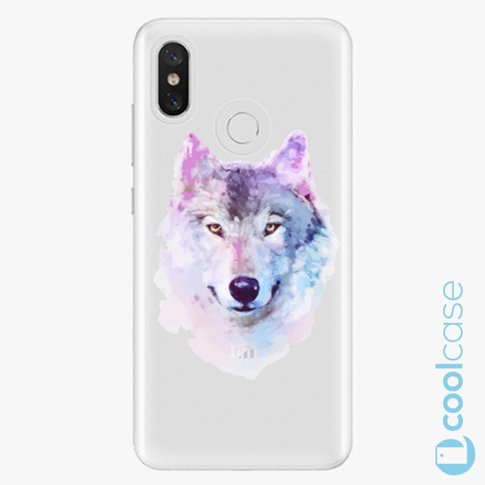 Plastový kryt iSaprio Fresh - Wolf 01 na mobil Xiaomi Mi 8