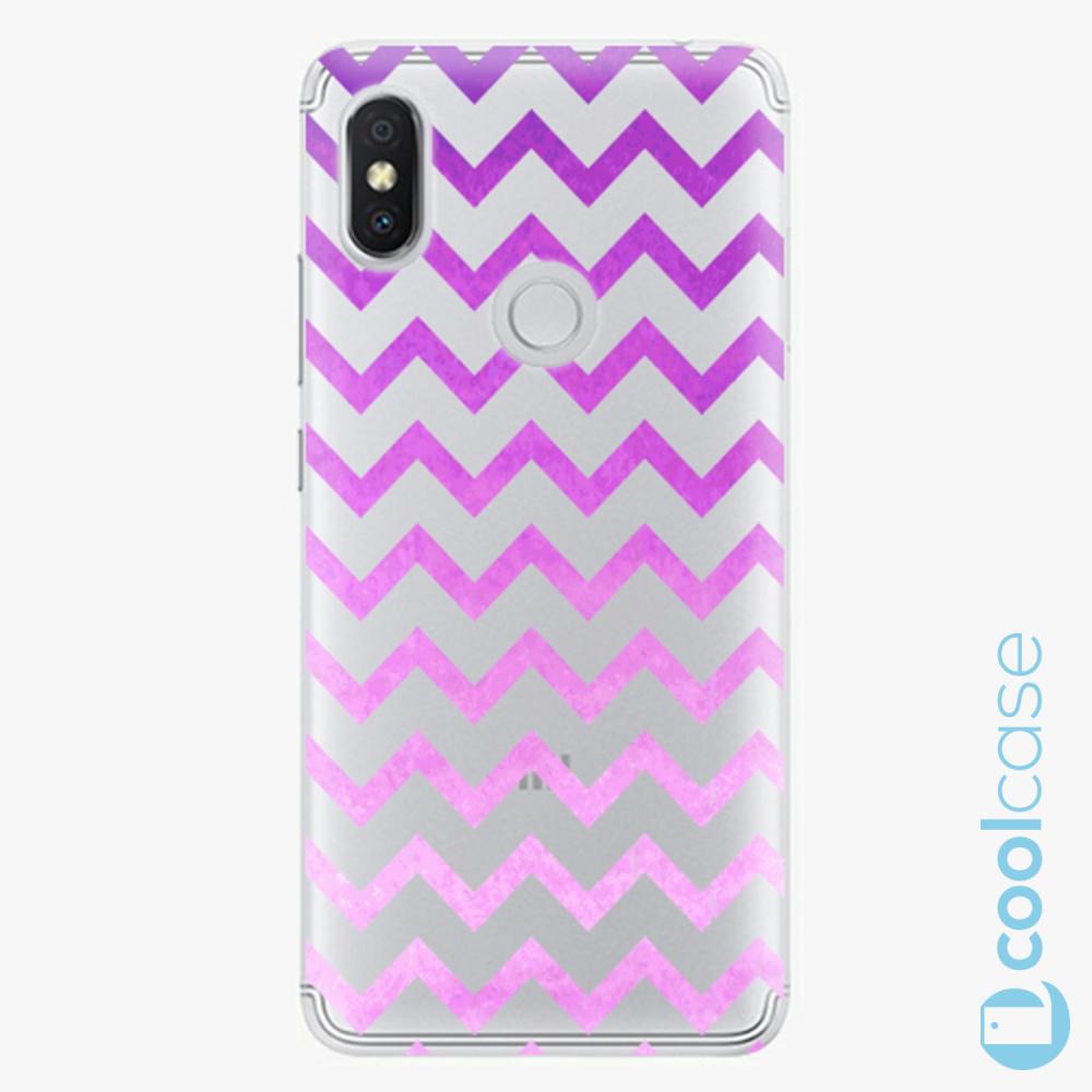 Plastový kryt iSaprio Fresh - Zigzag purple na mobil Xiaomi Redmi S2