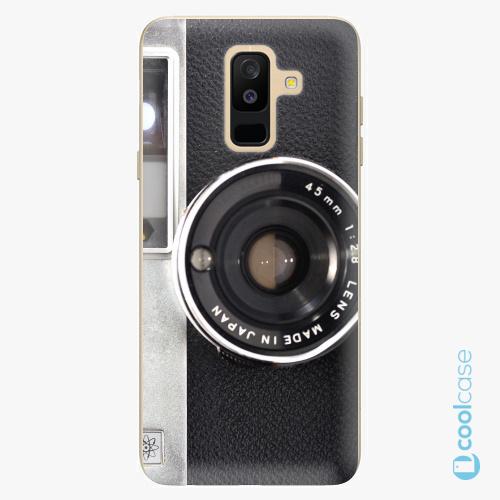 Plastové pouzdro iSaprio Fresh - Vintage Camera 01 na mobil Samsung Galaxy A6 Plus