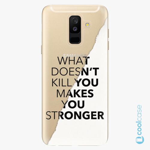 Plastové pouzdro iSaprio Fresh - Makes You Stronger na mobil Samsung Galaxy A6 Plus