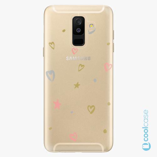 Plastové pouzdro iSaprio Fresh - Lovely Pattern na mobil Samsung Galaxy A6 Plus
