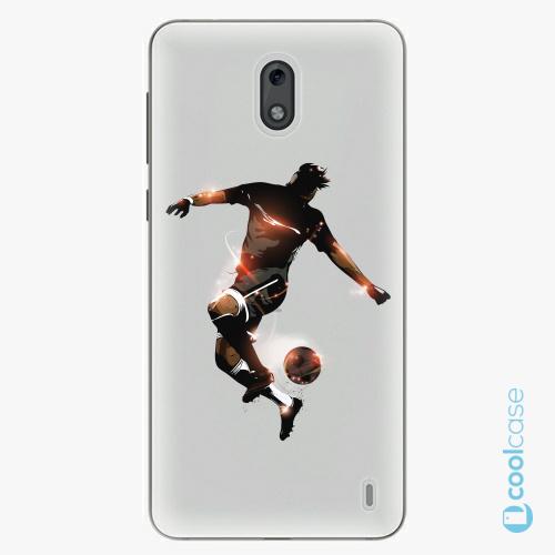 Plastové pouzdro iSaprio Fresh - Fotball 01 na mobil Nokia 2