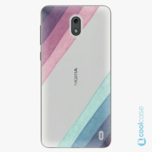 Plastové pouzdro iSaprio Fresh - Glitter Stripes 01 na mobil Nokia 2