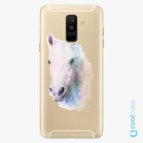 Plastové pouzdro iSaprio Fresh - Horse 01 na mobil Samsung Galaxy A6 Plus