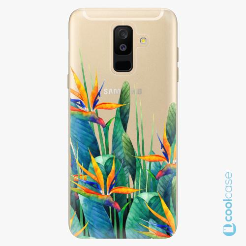Plastové pouzdro iSaprio Fresh - Exotic Flowers na mobil Samsung Galaxy A6 Plus