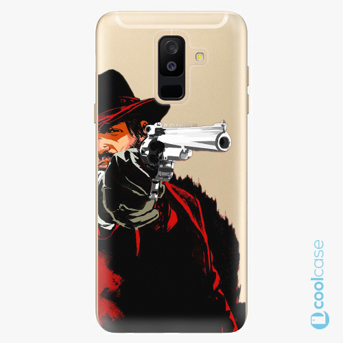 Plastové pouzdro iSaprio Fresh - Red Sheriff na mobil Samsung Galaxy A6 Plus