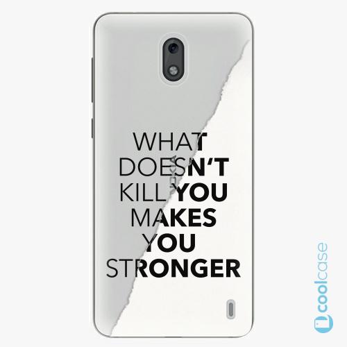 Plastové pouzdro iSaprio Fresh - Makes You Stronger na mobil Nokia 2