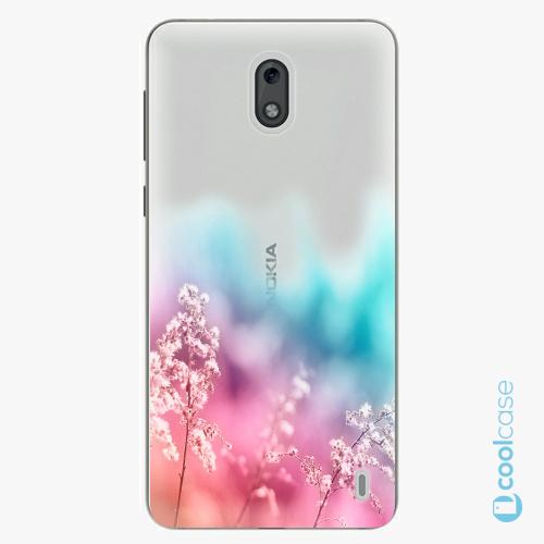 Plastové pouzdro iSaprio Fresh - Rainbow Grass na mobil Nokia 2