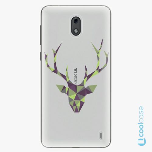 Plastové pouzdro iSaprio Fresh - Deer Green na mobil Nokia 2