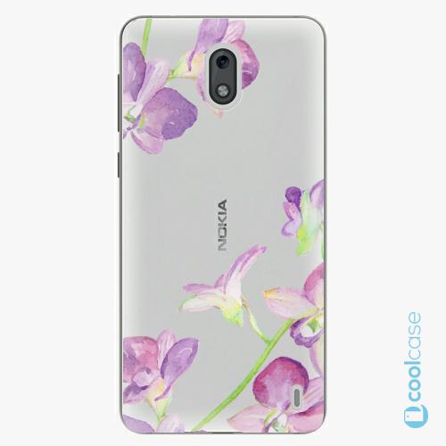 Plastové pouzdro iSaprio Fresh - Purple Orchid na mobil Nokia 2
