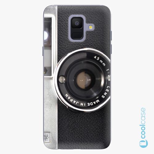 Plastové pouzdro iSaprio Fresh - Vintage Camera 01 na mobil Samsung Galaxy A6