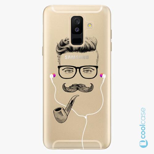 Plastové pouzdro iSaprio Fresh - Man With Headphones 01 na mobil Samsung Galaxy A6 Plus