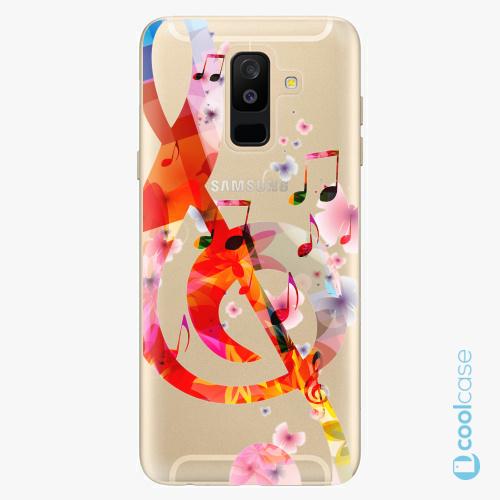 Plastové pouzdro iSaprio Fresh - Music 01 na mobil Samsung Galaxy A6 Plus