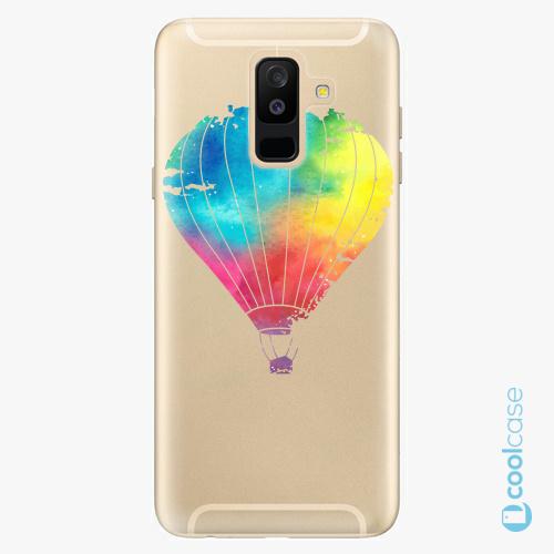 Plastové pouzdro iSaprio Fresh - Flying Baloon 01 na mobil Samsung Galaxy A6 Plus