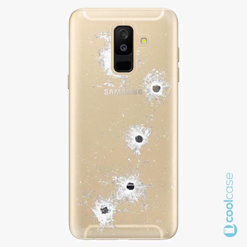 Plastové pouzdro iSaprio Fresh - Gunshots na mobil Samsung Galaxy A6 Plus