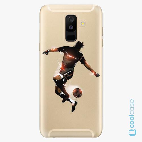 Plastové pouzdro iSaprio Fresh - Fotball 01 na mobil Samsung Galaxy A6 Plus