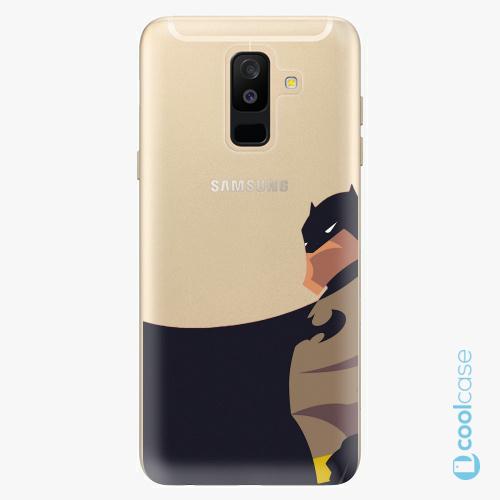 Plastové pouzdro iSaprio Fresh - BaT Comics na mobil Samsung Galaxy A6 Plus