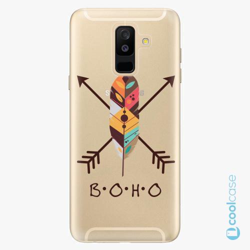 Plastové pouzdro iSaprio Fresh - BOHO na mobil Samsung Galaxy A6 Plus