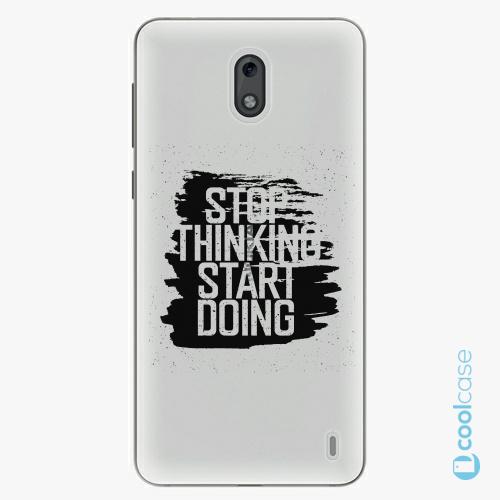 Plastové pouzdro iSaprio Fresh - Start Doing black na mobil Nokia 2