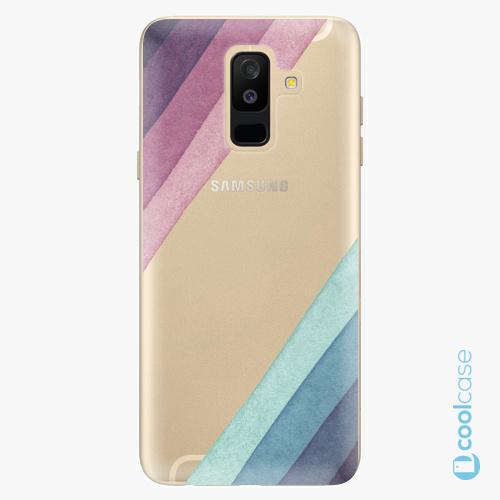 Plastové pouzdro iSaprio Fresh - Glitter Stripes 01 na mobil Samsung Galaxy A6 Plus