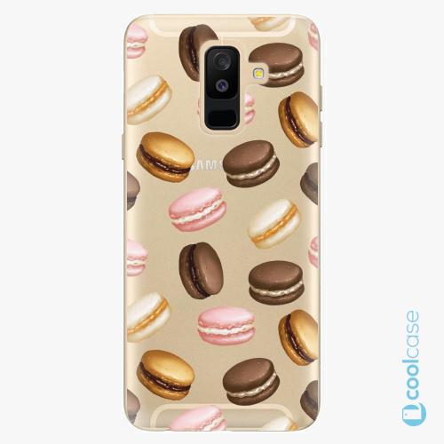 Plastové pouzdro iSaprio Fresh - Macaron Pattern na mobil Samsung Galaxy A6 Plus