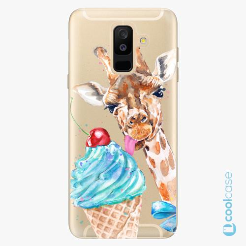 Plastové pouzdro iSaprio Fresh - Love Ice Cream na mobil Samsung Galaxy A6 Plus