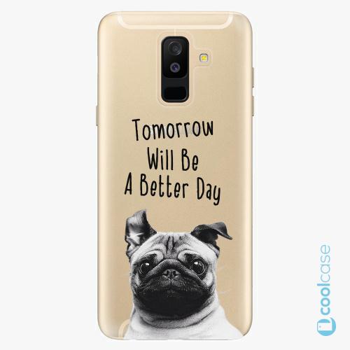 Plastové pouzdro iSaprio Fresh - Better Day 01 na mobil Samsung Galaxy A6 Plus