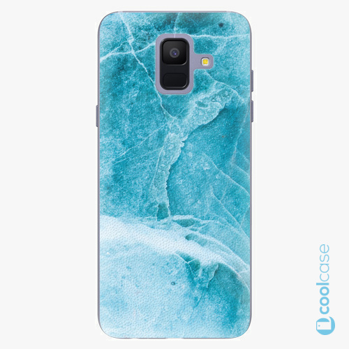 Plastové pouzdro iSaprio Fresh - Blue Marble na mobil Samsung Galaxy A6