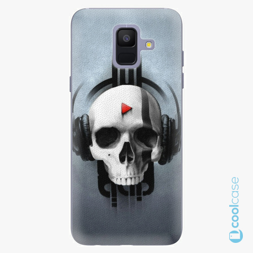 Plastové pouzdro iSaprio Fresh - Skeleton M na mobil Samsung Galaxy A6