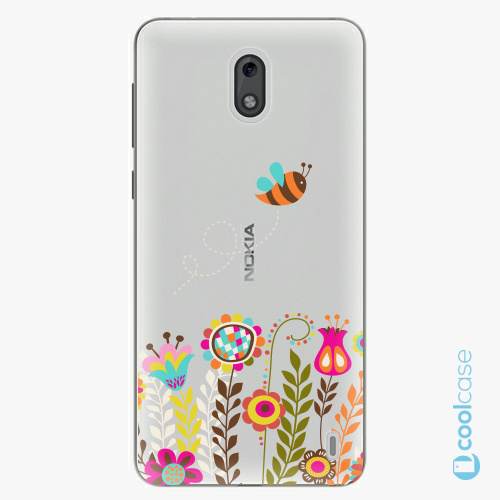 Plastové pouzdro iSaprio Fresh - Bee 01 na mobil Nokia 2