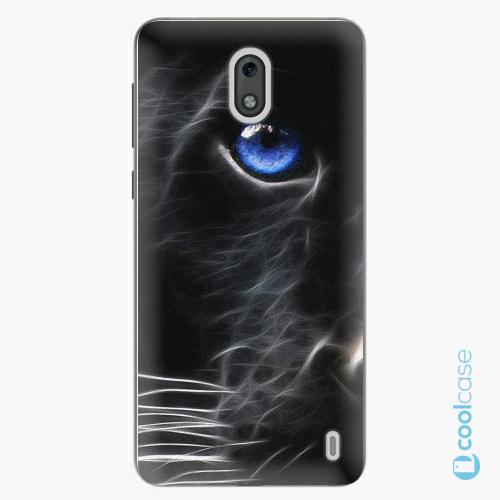 Plastové pouzdro iSaprio Fresh - black Puma na mobil Nokia 2