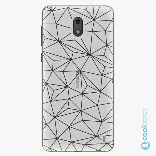 Plastové pouzdro iSaprio Fresh - Abstract Triangles 03  black na mobil Nokia 2