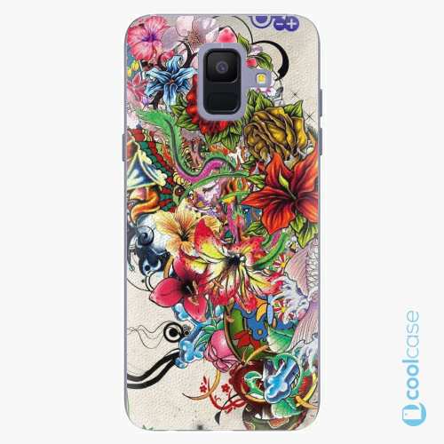 Plastové pouzdro iSaprio Fresh - Tattoo 01 na mobil Samsung Galaxy A6