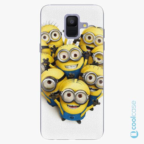 Plastové pouzdro iSaprio Fresh - Mimons 01 na mobil Samsung Galaxy A6