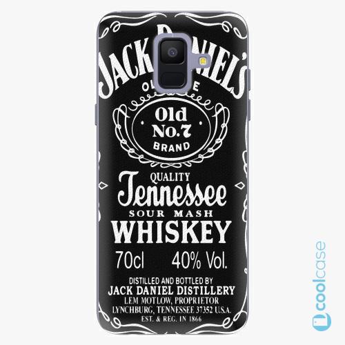Plastové pouzdro iSaprio Fresh - Jack Daniels na mobil Samsung Galaxy A6
