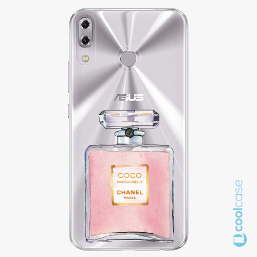 Plastové pouzdro iSaprio Fresh - Chanel Rose na mobil Asus ZenFone 5 ZE620KL
