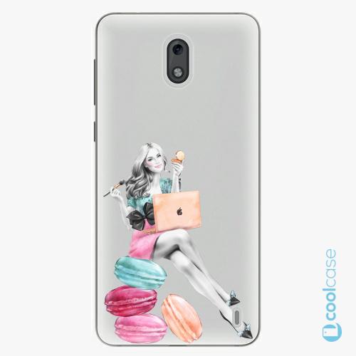 Plastové pouzdro iSaprio Fresh - Girl Boss na mobil Nokia 2