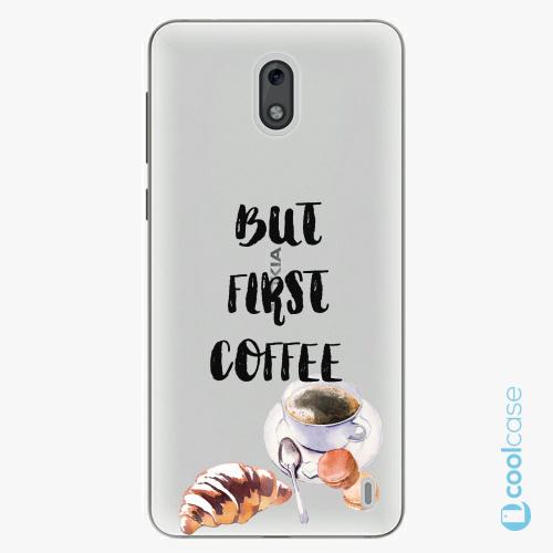Plastové pouzdro iSaprio Fresh - First Coffee na mobil Nokia 2