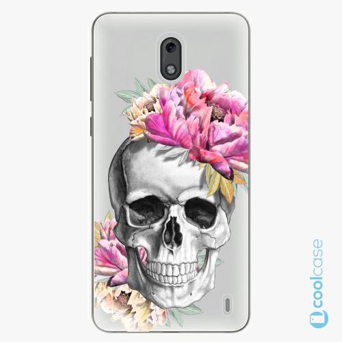Plastové pouzdro iSaprio Fresh - Pretty Skull na mobil Nokia 2