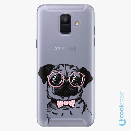 Plastové pouzdro iSaprio Fresh - The Pug na mobil Samsung Galaxy A6
