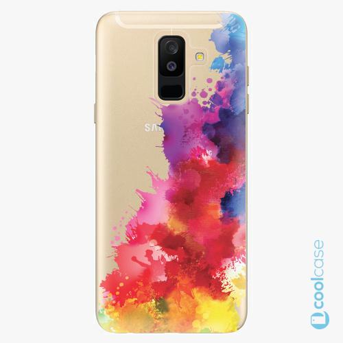 Plastové pouzdro iSaprio Fresh - Color Splash 01 na mobil Samsung Galaxy A6 Plus