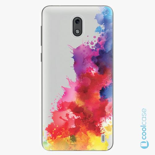 Plastové pouzdro iSaprio Fresh - Color Splash 01 na mobil Nokia 2
