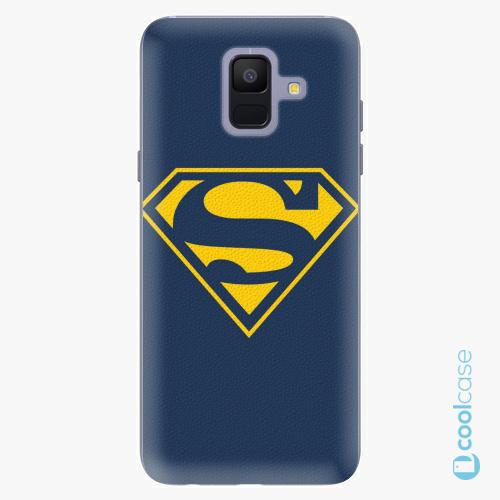 Plastové pouzdro iSaprio Fresh - Superman 03 na mobil Samsung Galaxy A6