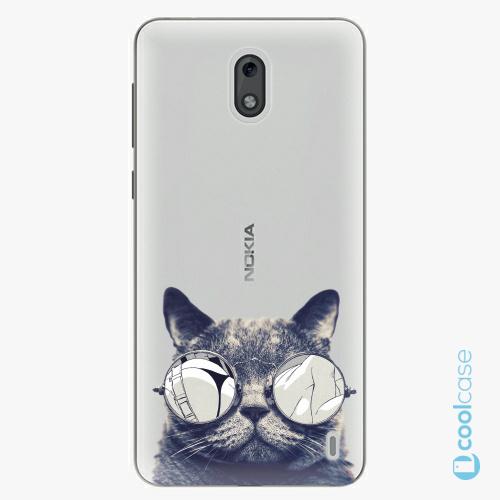 Plastové pouzdro iSaprio Fresh - Crazy Cat 01 na mobil Nokia 2