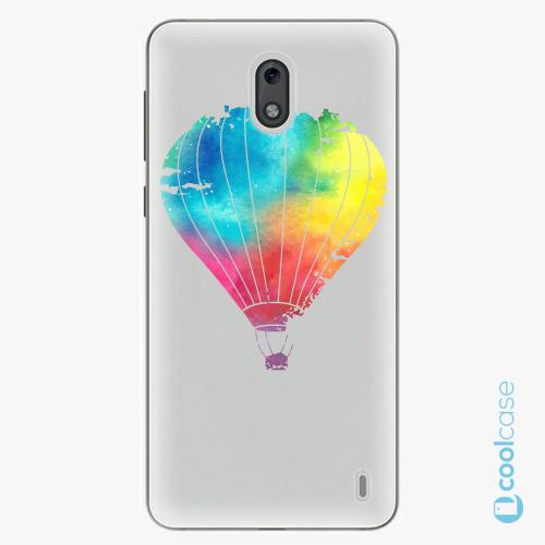 Plastové pouzdro iSaprio Fresh - Flying Baloon 01 na mobil Nokia 2