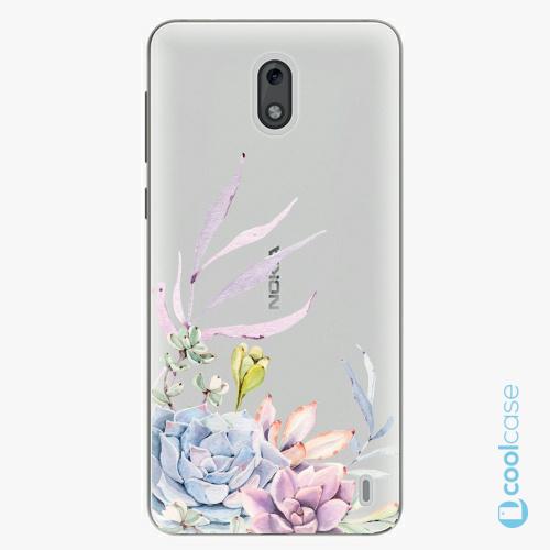 Plastové pouzdro iSaprio Fresh - Succulent 01 na mobil Nokia 2