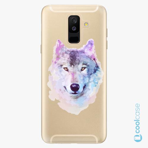 Plastové pouzdro iSaprio Fresh - Wolf 01 na mobil Samsung Galaxy A6 Plus